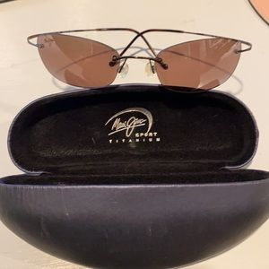 Maui Jim Sport Titanium sunglasses, size small